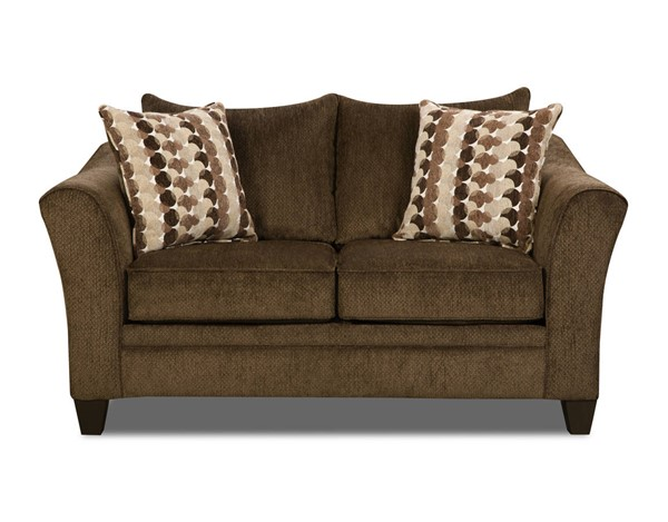 Lane Furniture Albany Chestnut Loveseat UNI-6485-02-Albany-Chestnut