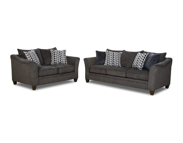 Lane Furniture Albany Slate 2pc Living Room Set UNI-6485-Albany-LR-S1
