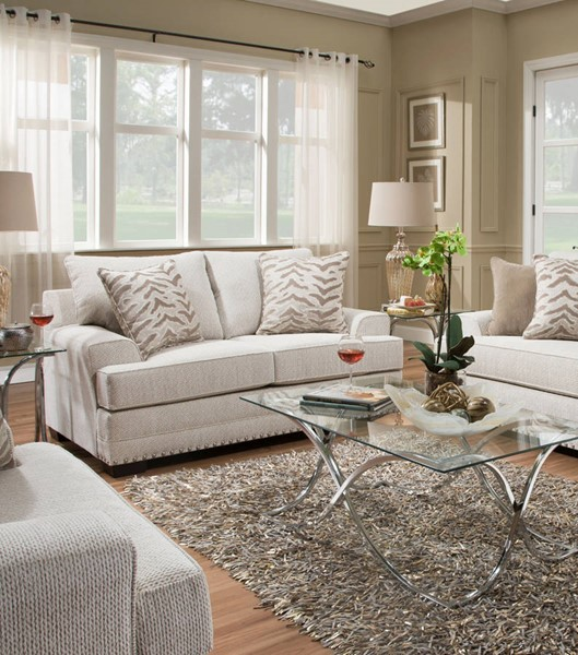 United Furniture Grenada Natural Simmons Loveseat The Classy Home