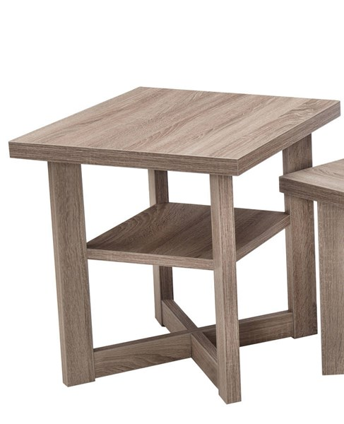 Lane Furniture Driftwood Rectangle End Table UNI-7019-47