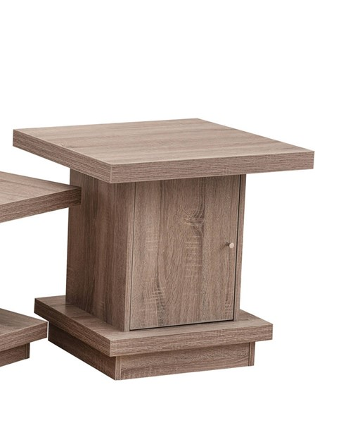 Lane Furniture Driftwood Storage End Table UNI-7020-47