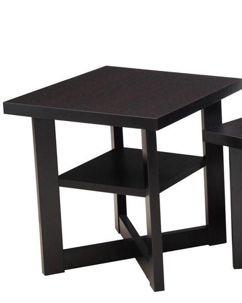 Lane Furniture Merlot Shelf Storage End Table UNI-7119-47