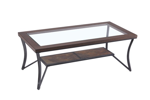 United Furniture Rustic Oak Cocktail Table UNI-7319-45