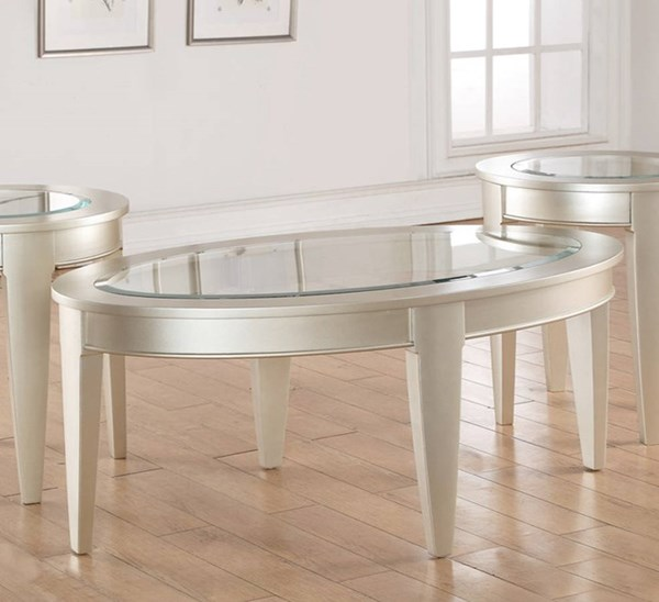 United Furniture Platinum Oval Cocktail Table UNI-7520-45