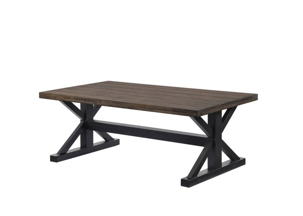 United Furniture Lexington Oak Rectangle Cocktail Table UNI-7525-45