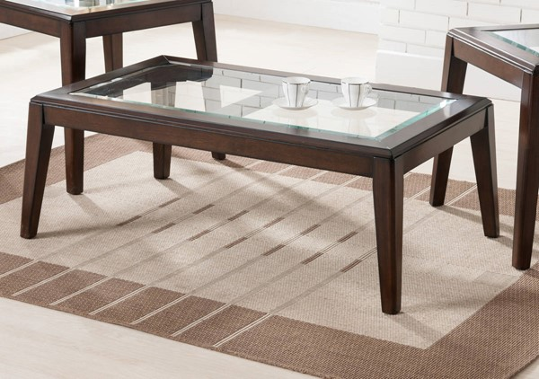 Lane Furniture Walnut Rectangular Cocktail Table UNI-7548-45