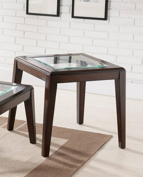 United Furniture Walnut End Table UNI-7548-47