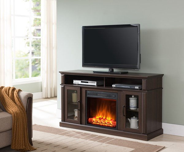 Lane Furniture Walnut Fireplace UNI-7579-42