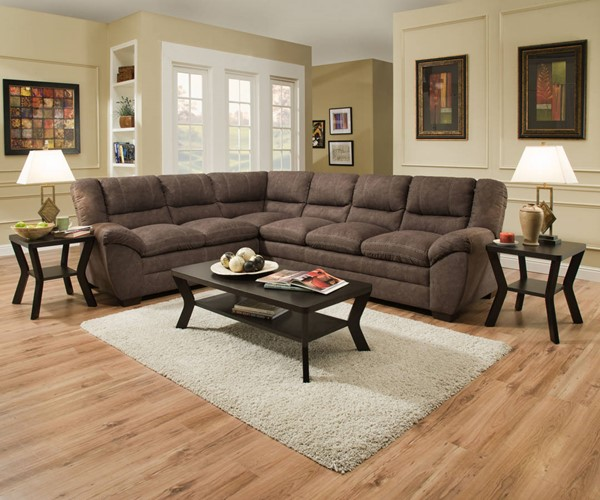 Lane Furniture Palermo Sectionals UNI-9511-Palermo-SEC-S