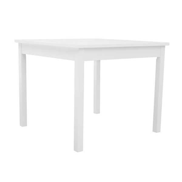 VIFAH Bradley White Outdoor Stacking Table VFH-V1841