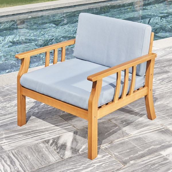 VIFAH Kapalua Honey Outdoor Sofa Chair VFH-V1955