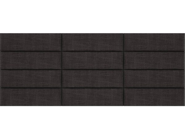Cotton Weave Linen King or Full Bed Accent Wall Panels [117 x 46] VNT-W3912-KF-11746-VAR