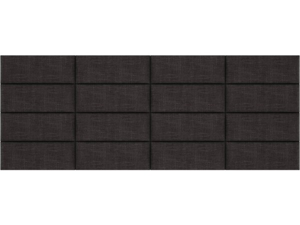 Cotton Weave Linen Queen or Full Bed Accent Wall Panels [120 x 46] VNT-W3016-QF-12046-VAR