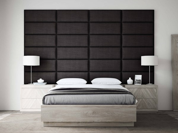 Cotton Weave Bed Accent Wall Panels VNT-COTTONWEAVE-PNL