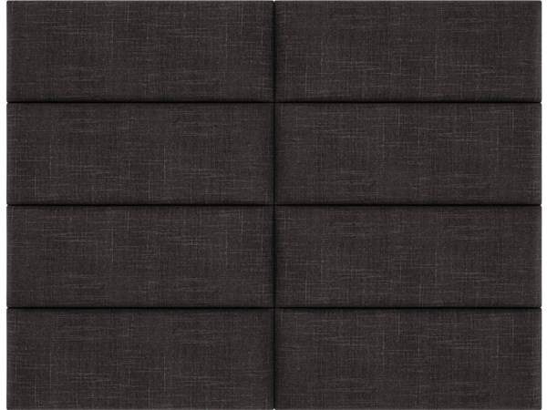 Cotton Weave Linen Queen or Full Bed Accent Wall Panels  [60 x 46] VNT-W308-QF-6046-VAR