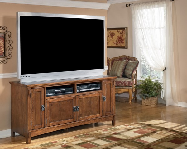 Ashley Furniture Cross Island Oak Stained 60 Inch TV Stand W319-38