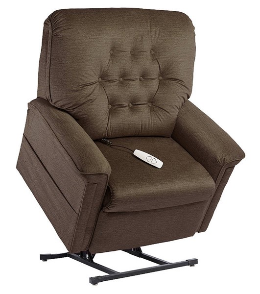 Windermere Terry Mink Fabric Lift Chair WND-NM-122PW-Mink