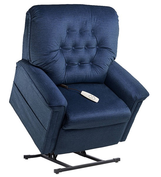 Windermere Terry Ocean Fabric Lift Chair WND-NM-122PW-Ocean