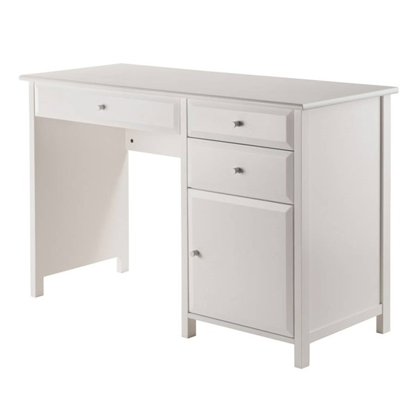 Winsome Delta White Wood Office Writing Desk WNS-10147
