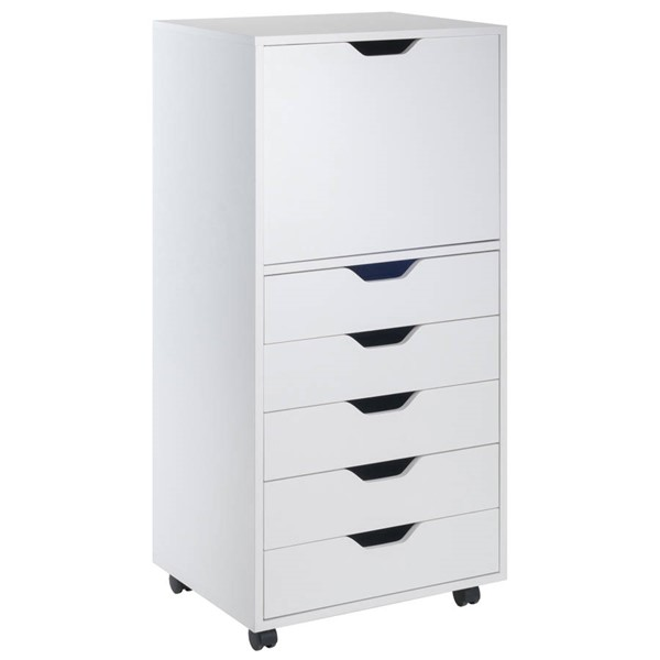 Winsome Halifax White Wood File Cabinet WNS-10616