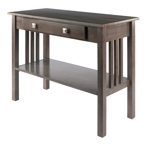 Winsome Wood Stafford Grey Console Table WNS-16033