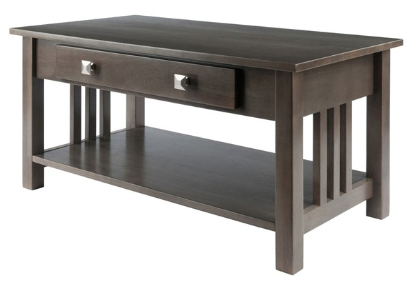 Winsome Wood Stafford Grey Coffee Table WNS-16040