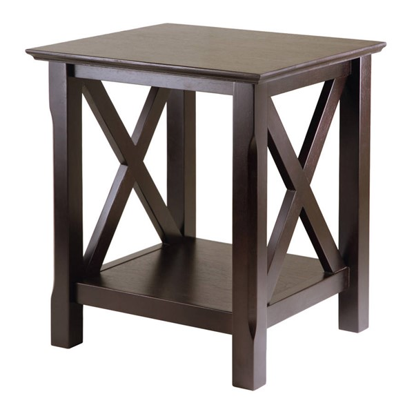 Winsome Xola Cappuccino Solid Wood End Table WNS-40420