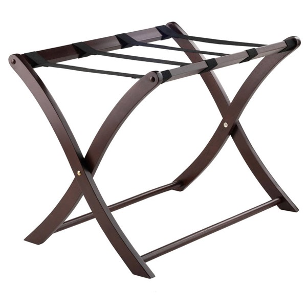 Winsome Scarlett Cappuccino Solid Wood Luggage Rack WNS-40620