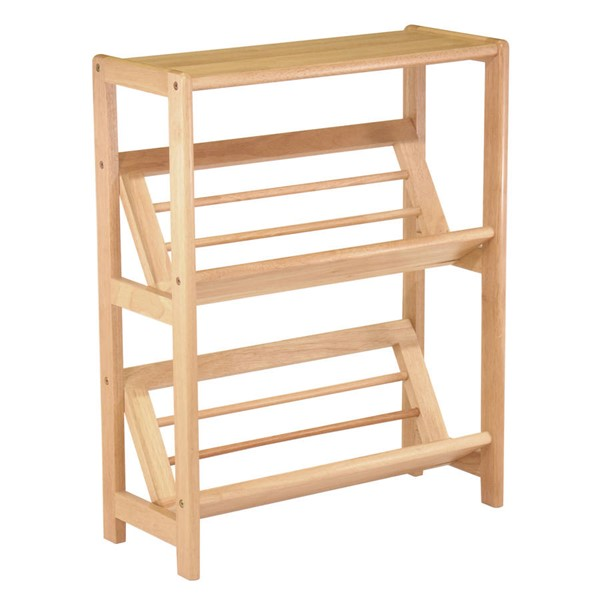 Winsome Juliet Natural Solid Wood Book Shelf WNS-82430
