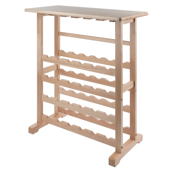 Winsome Vinny Beech Solid Wood Wine Rack WNS-83024