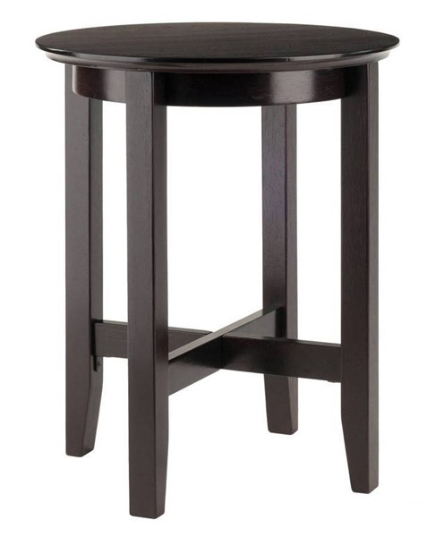 Winsome Toby Espresso Solid Wood End Table WNS-92118