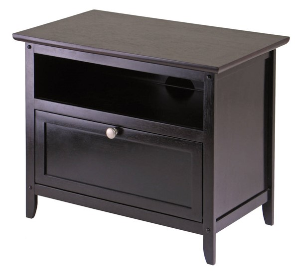 Winsome Zara Dark Espresso Solid Wood TV Stand WNS-92125
