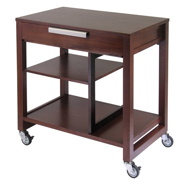 Winsome Rockford Antique Walnut Solid Wood Computer Desk WNS-94032