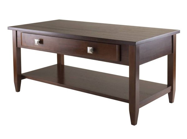 Winsome Richmond Antique Walnut Solid Wood Coffee Table WNS-94140