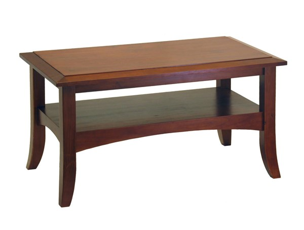 Winsome Craftsman Antique Walnut Solid Wood Coffee Table WNS-94234