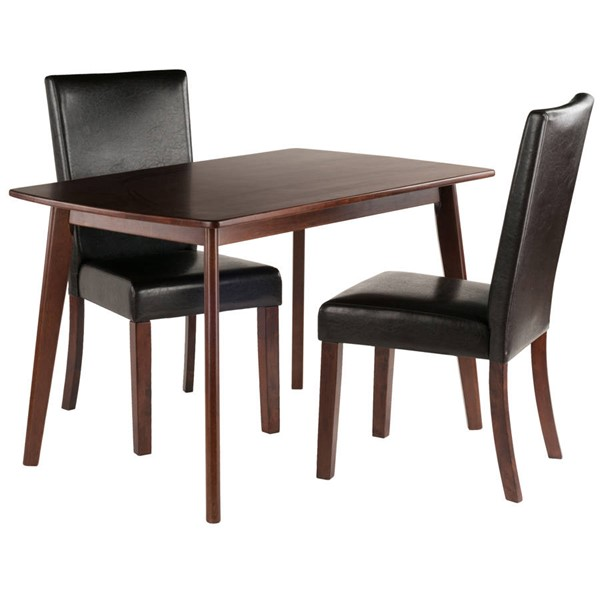 Winsome Shaye Walnut 3pc Dining Room Set WNS-94375