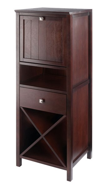 Winsome Brooke Walnut Door Accent Cabinet WNS-94443
