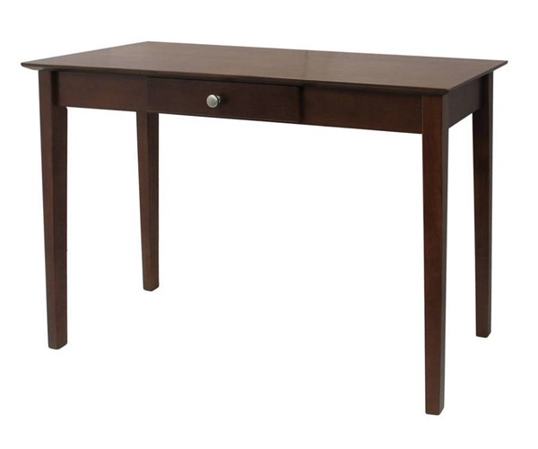 Winsome Rochester Antique Walnut Solid Wood One Drawer Console Table WNS-94844