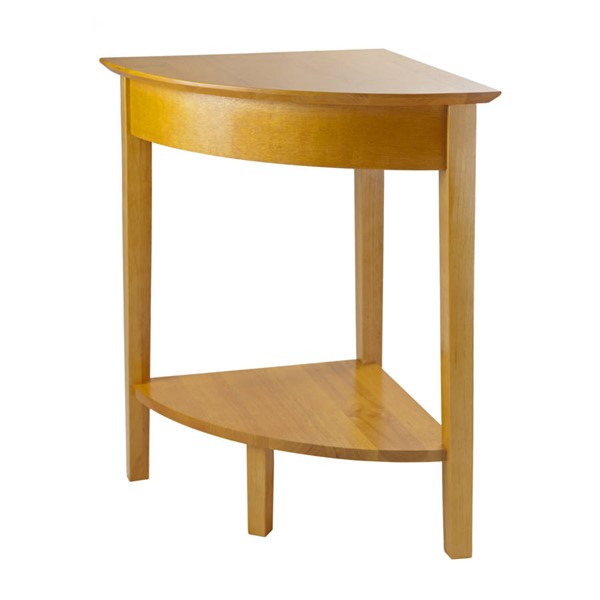 Winsome Studio Honey Solid Wood Corner Table WNS-99320