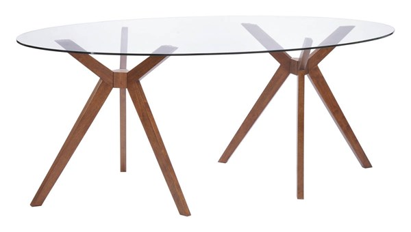 Zuo Furniture Buena Vista Walnut Dining Table ZUO-100090