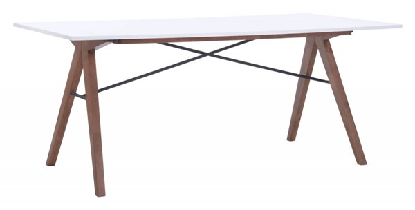 Zuo Furniture Saints Walnut Dining Table ZUO-100143