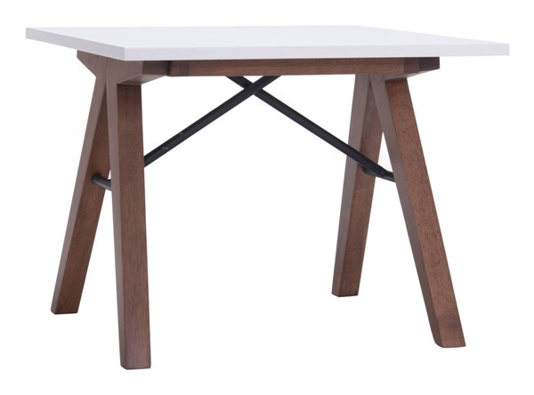Zuo Furniture Saints White Side Table ZUO-100146