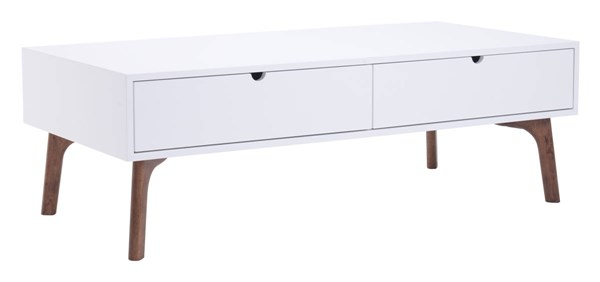Zuo Furniture Padre White Coffee Table ZUO-100148