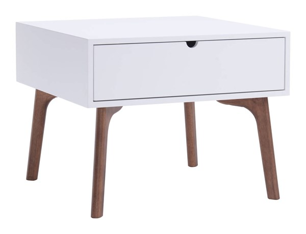 Zuo Furniture Padre White Side Table ZUO-100149