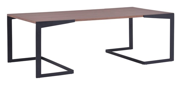 Zuo Furniture Sister Walnut Coffee Table ZUO-100150