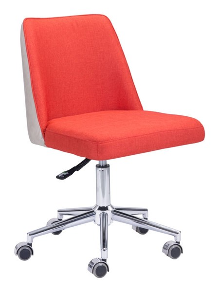 Zuo Furniture Season Orange Office Chair ZUO-100234