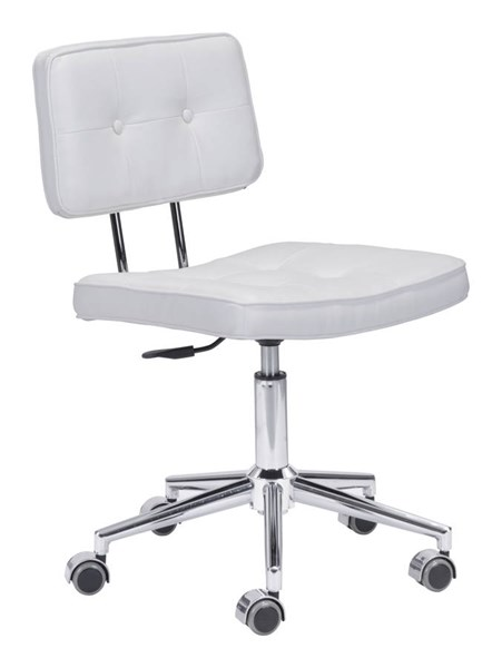 Zuo Furniture Series White Office Chair ZUO-100237