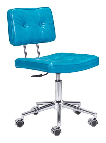 Zuo Furniture Series Blue Office Chair ZUO-100238