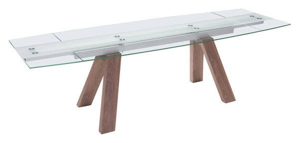 Zuo Furniture Wonder Walnut Extension Dining Table ZUO-100263