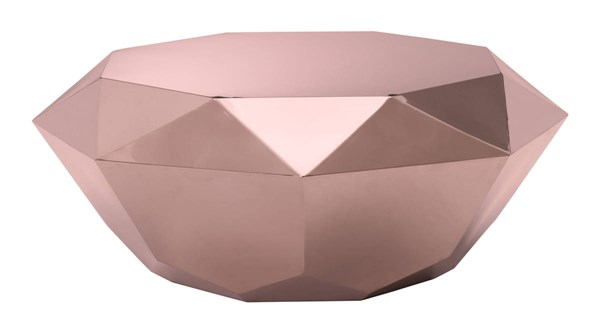 Zuo Furniture Gem Gold Coffee Table ZUO-100345